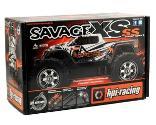 HPI Savage XS Flux SS Micro Monster Truck Kit [HPI107820]  RC Cars