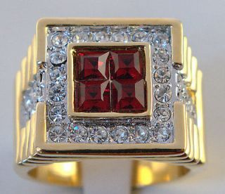 mens gold rings size 13 in Mens Jewelry
