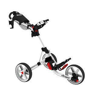 New Clicgear 3 Wheel Golf Cart Model 3.0  White