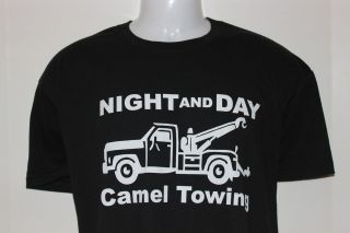 Night and day CAMEL TOWING T shirt CAMEL TOE funny humorous shirt