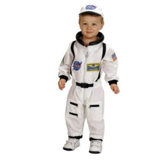 Halloween Costumes NASA Jr. Astronaut Suit White Toddler Costume