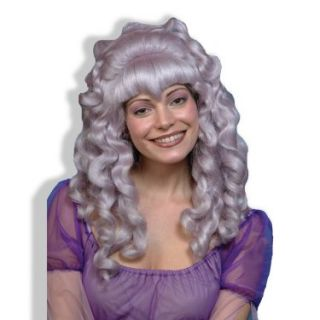 Halloween Costumes Faerie Wig Light Purple Curly