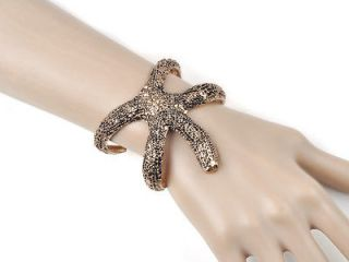 New Punk Rock Gothic Party Cosplay Vintage Sea Star Cuff Bracelet