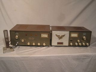 BROWNING GOLDEN EAGLE MARK III CB RADIO/SSB TRANSMITTER W/ MIC & Nice