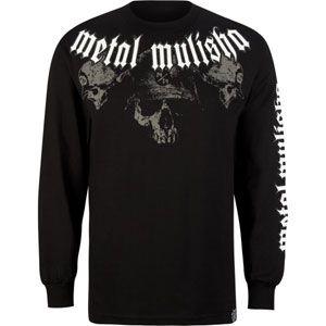 METAL MULISHA Strangler Mens T Shirt 156740100  L/S & Baseball Tees