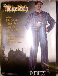 Gomez Addams Family Costume Adult XL 40 42 NIP