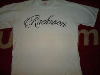 SUPREME BOX LOGO RAEKWON PARTY PROMO TEE SHIRT WHITE XL XLARGE COMME