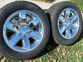 NEW 2013 20 OEM GMC SIERRA WHEELS & TIRES YUKON DENALI CHEVY TAHOE GM