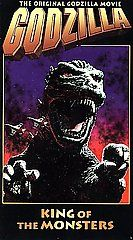 Godzilla, King of the Monsters VHS, 1998, EP mode