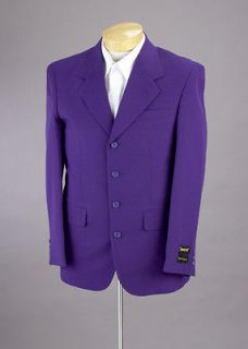 MENS SB PURPLE DRESS SUIT MENS 42 R 42R NEW SUITS NWT