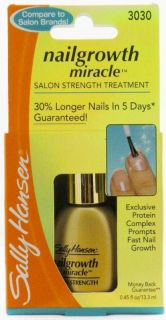 sally hansen nail growth miracle in Nail Polish
