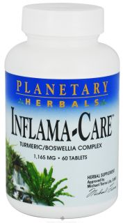 Buy Planetary Herbals   Inflama Care Turmeric/Boswellia Complex 1165