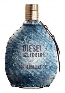 Diesel Fuel for Life Denim Homme Eau De Toilette Spray 75ml   Free