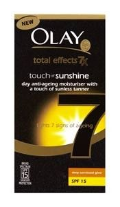 Olay Total Effects 7x Touch of Sunshine Day Anti Ageing Moisturiser