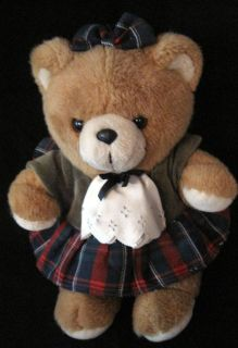 Harrods Knightsbridge London UK Teddy Bear Brown Plush Stuffed w