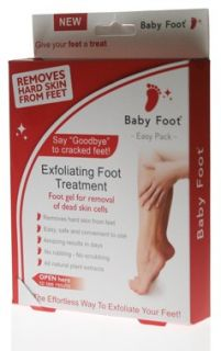 Baby Foot Exfoliating Foot Treatment Easy Pack   Free Delivery