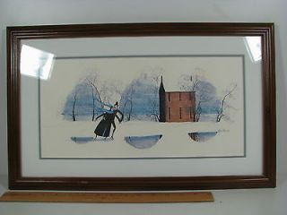 Buckley Moss 189 / 1000 1979 EVERY BLESSING Framed Print