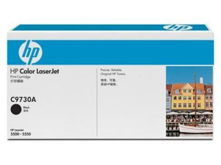 HP Colour Laser 5500 Black Cart (C9730A)   dabs