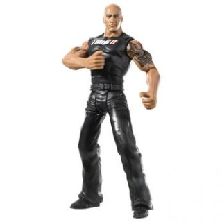 Sorry, out of stock Add WWE Flexforce Action Figure   The Rock   Toys