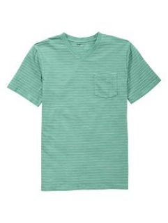 Striped V neck pocket T  Gap   Free Shipping on $50