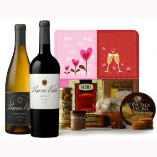 90 Point Rated Perfect Pair Wine Valentine Gift Set
