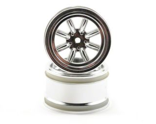 HPI 31mm Vintage 8 Spoke Wheel (Chrome) (2) [HPI3812]  RC Cars