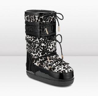 Jimmy Choo  Grove  Leopard Print Boots  JIMMYCHOO