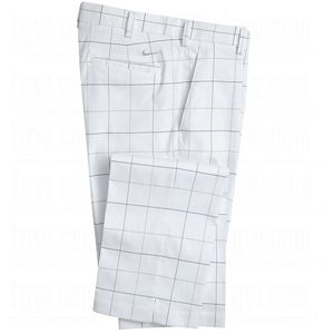 The Golf Warehouse   NIKE Mens Dri FIT Flat Front Plaid Pants customer