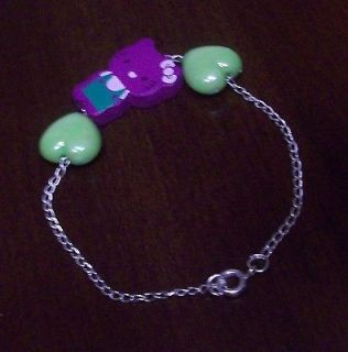 Pretty Bracelet * HELLO KITTY * item12 / Purple / Green