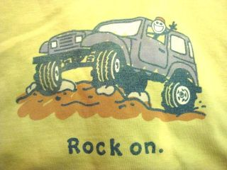 CRUSHER TEE   MENS   ROCK ON OFF ROAD   SPROUT GREEN   T SHIRT S/S