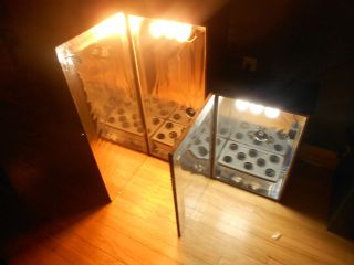 Stealth Hydroponic Grow Box PC Style Grow Cabinet 2 ft Box & XL 3 Foot