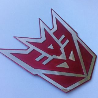 Nismo Altima Z350 Xterra Toyota Camry S Grille Emblem Decal Badge Hood