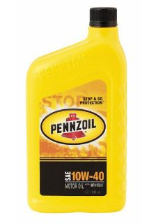 3653 Pennzoil Motor Oil   10W40 CS12 for 86 89 Honda Accord at Andys