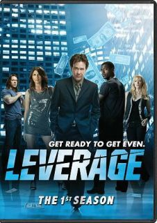 Leverage The 1st Season (DVD, 2009, 4 Disc Set)