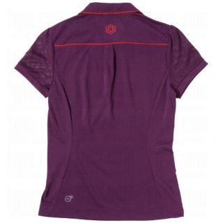 Puma Golf Ladies Novelty Sleeve Polos