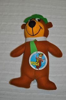 1980 Hanna Barbera Productions YOGI BEAR Plush Stuffed Doll NEW