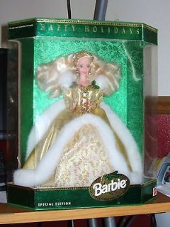 Happy Holidays Barbie Doll 1994 Mattel Special Edition STILL IN BOX