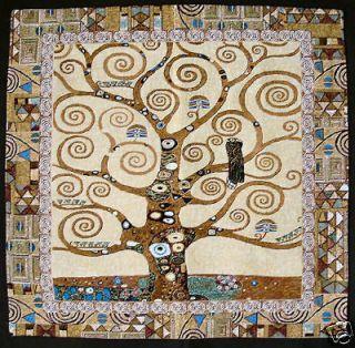 NEW GUSTAV KLIMT TREE OF LIFE I CUSHION COVER 28
