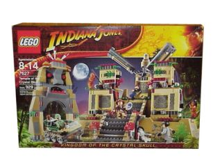 Lego Indiana Jones Kingdom of the Crystal Skull Temple of the Crystal