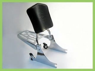 Harley Davidson Softail Detachable Sissy Bar, Pad, & Luggage Rack