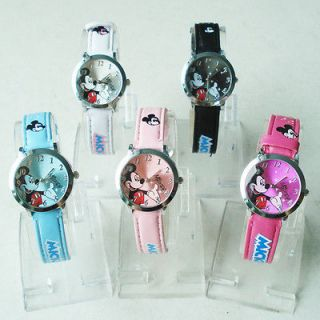 Wholesale 5pc cute Mickey mouse Watch MKW01