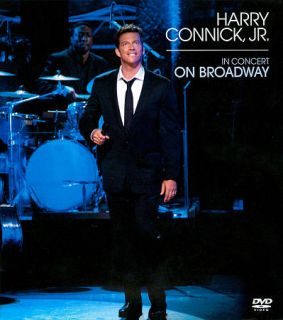 Harry Connick, Jr. In Concert on Broadway DVD, 2011, CD DVD