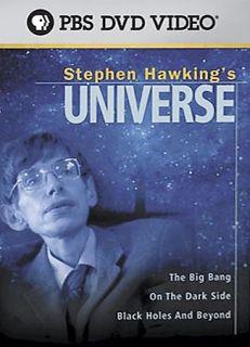 Stephen Hawkings Universe DVD, 2005, 3 Disc Set