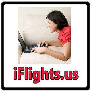 Flights.us INTERNET DOMAIN FOR SALE/TRAVEL/AIRLINE TICKETS/VOUCHE