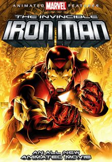 Invincible Iron Man DVD, 2007