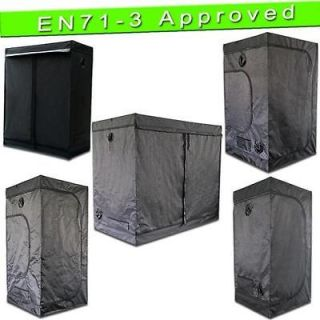 Reflective Mylar Hydroponics Grow Tent Room Box Indoor 24 32 40 48 60