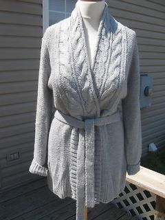 Newly listed Apt.9 Wool Cable Knit Cardigan Coat Gray XL NWT