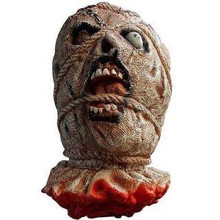 Life Size Severed Bloody Dead Man Ghost Head Rope Eye Halloween Prop