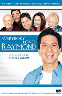 Everybody Loves Raymond   The Complete Third Season DVD, 2005, 5 Disc