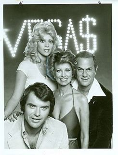 JUDY LANDERS PHYLLIS DAVIS BUSTY CLEAVAGE ROBERT URICH VEGAS 1978 ABC